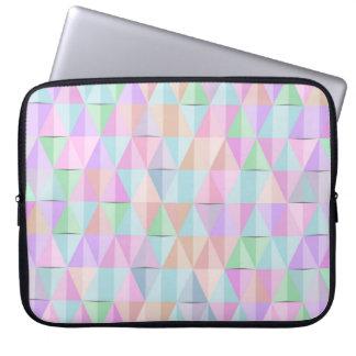 Pastel Geometrixx Laptop Sleeve
