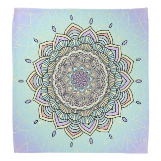 Pastel Glow Mandala ID359 Bandana