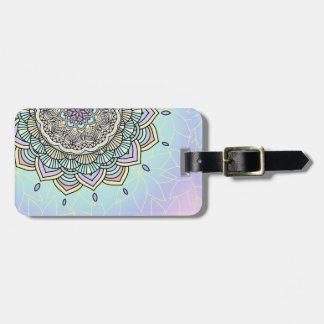 Pastel Glow Mandala ID359 Luggage Tag