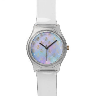 Pastel Golden Unicorn Watch