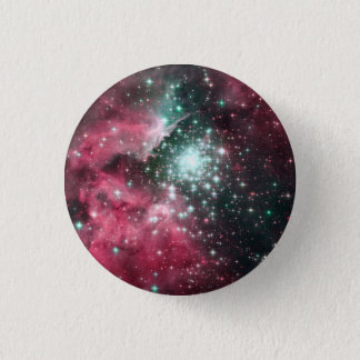 Pastel Goth Space Nebula 3 Cm Round Badge