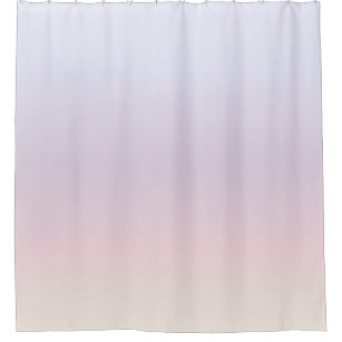 Pastel Gradient Light Colors Shower Curtain