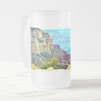 Pastel Grand Canyon Frosted Mug