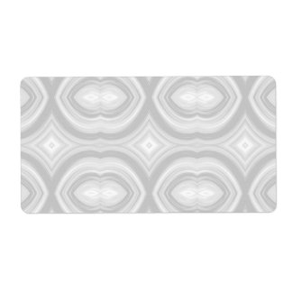 Pastel Gray Abstract Pattern.