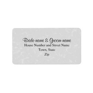 Pastel Gray Subtle Abstract Background Wedding Label