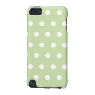 Pastel Green Polka Dot iPod Touch (5th Generation) Covers