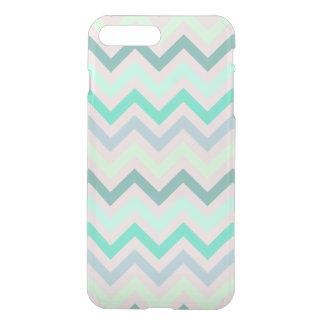 Pastel Green Teal Chevron iPhone 7 Plus Case