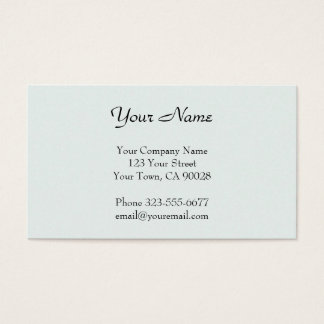 Pastel Green texture Business Card