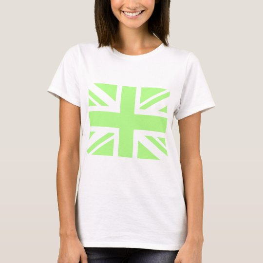 Pastel green Union Jack T-Shirt