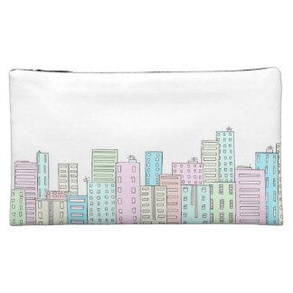 Pastel Grung City Makeup Bag