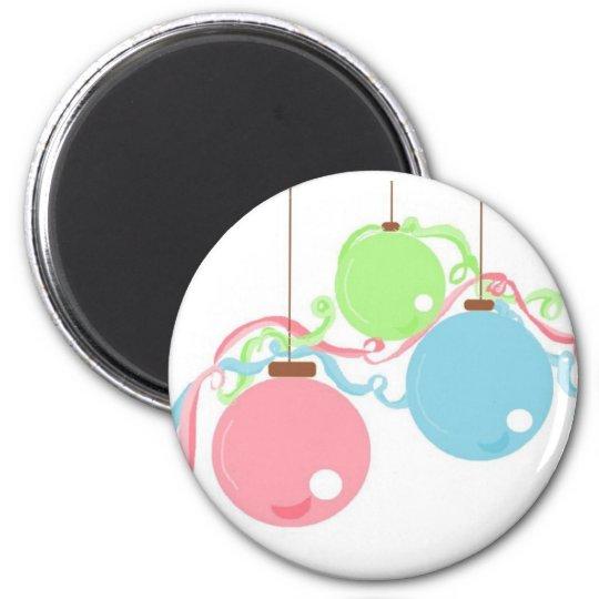 Pastel Hanging Balls Magnet