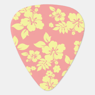 Pastel Hawaiian Guitar Pick