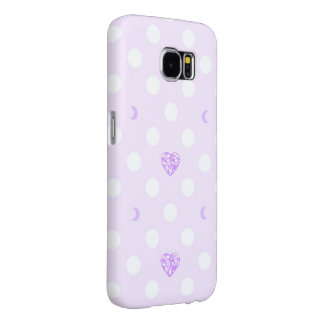 Pastel Heart Crystal and Moon Samsung Galaxy S6 Ca Samsung Galaxy S6 Cases