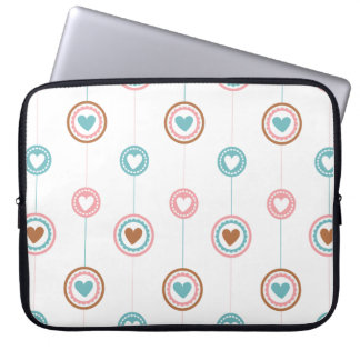 pastel heart  Laptop Sleeve