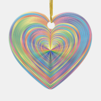 Pastel Heart Ornament Lighthouse Route™