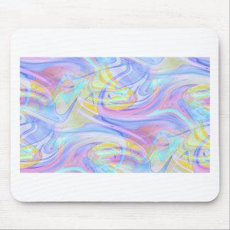 pastel hologram mouse pad