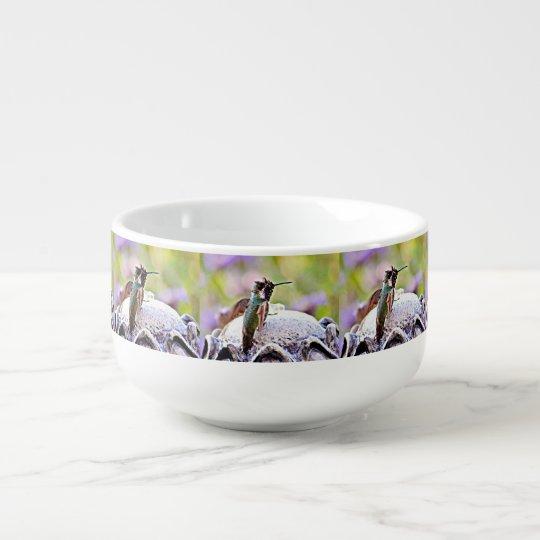 Pastel Hummer on Fountain Soup Mug