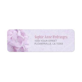 Pastel Hydrangea FlowersLabels