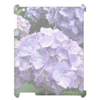 Pastel Hydrangeas at Trebah Gardens iPad Case
