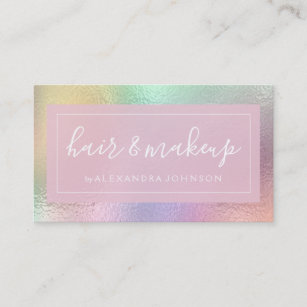 Iridescent business cards business card printing zazzle uk pastel iridescent foil business card colourmoves