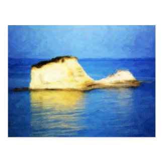 Pastel Island Postcard