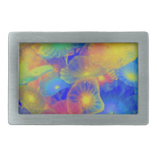 Pastel Jellies Rectangular Belt Buckles