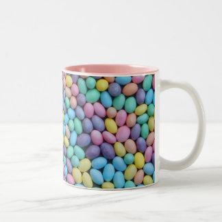 Pastel Jelly Beans Coffee Mugs