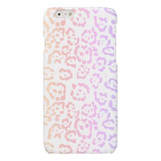 Pastel Kawaii Leopard Rainbow Animal Print iPhone 6 Plus Case