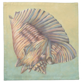 Pastel Large Conch Shell Napkin