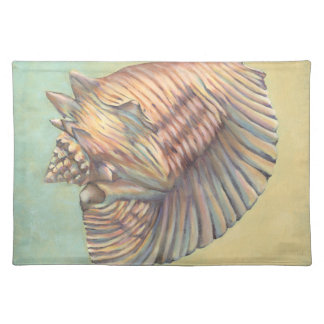 Pastel Large Conch Shell Placemat