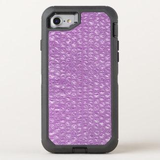 Pastel Lavender Grape Pop Bubble Wrap Purple OtterBox Defender iPhone 7 Case