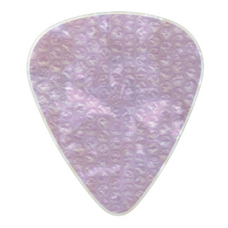 Pastel Lavender Grape Pop Bubble Wrap Purple Pearl Celluloid Guitar Pick