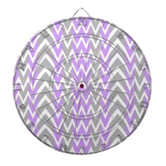 Pastel Lavender Gray Hump Dartboard