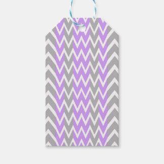 Pastel Lavender Gray Hump Gift Tags