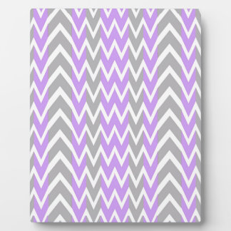 Pastel Lavender Gray Hump Plaque
