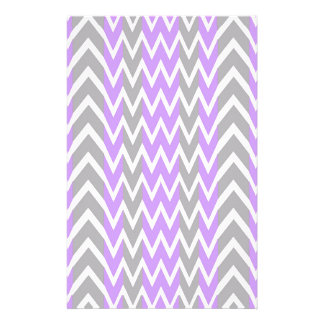 Pastel Lavender Gray Hump Stationery