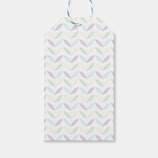 Pastel Leafs Gift Tags