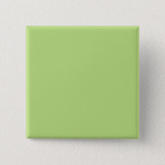 Pastel Light Green Personalized Color Background 15 Cm Square Badge