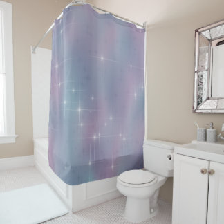 Pastel Lights Shower Curtain