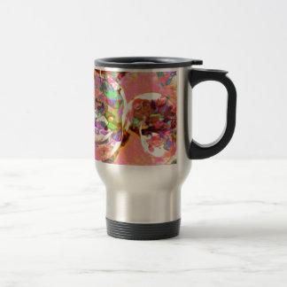 pastel,lilies,rainbows,love,romance,bouquet,buds,f stainless steel travel mug
