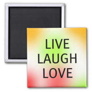 Pastel Live, Laugh, Love Magnet