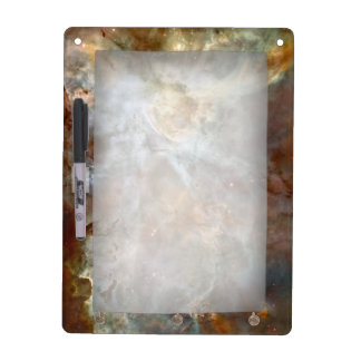 Pastel Marble in the Carina Nebula Dry Erase Board