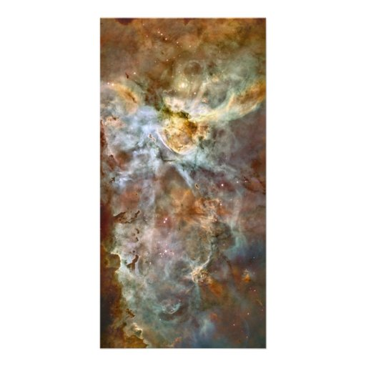 Pastel Marble in the Carina Nebula Picture Card