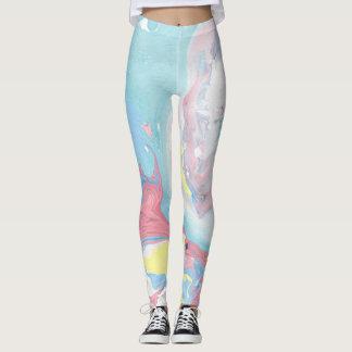 Pastel Marble Leggings