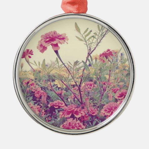 Pastel Marigolds Ornament