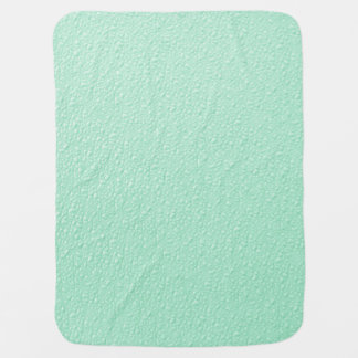 Pastel Mint Green Trendy Colors Baby Blanket