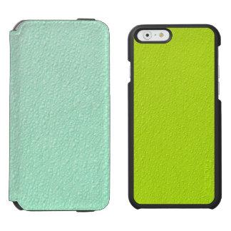 Pastel Mint Green Trendy Colors Incipio Watson™ iPhone 6 Wallet Case