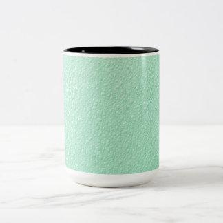 Pastel Mint Green Trendy Colors Two-Tone Coffee Mug
