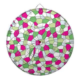 Pastel Mosaic Dartboard