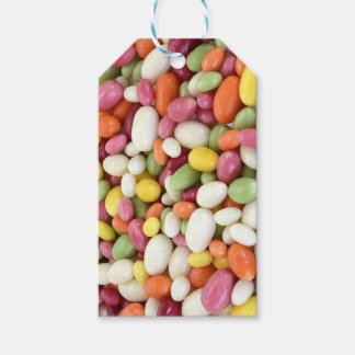 Pastel Multicolored Easter Jelly Beans Gift Tag